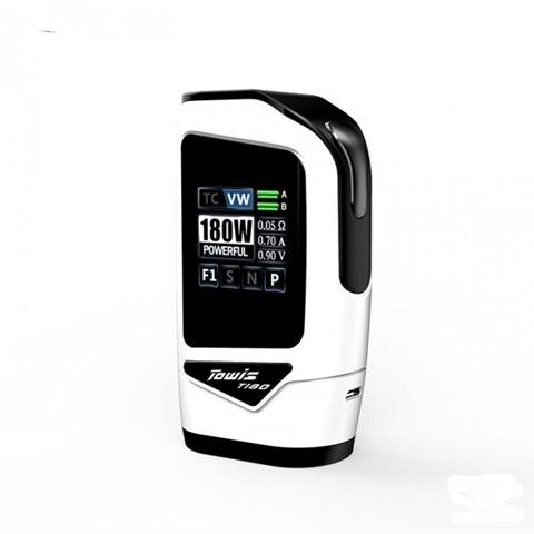 hcigar towis t180 box mod 1 thumb%255B2%255D - 【海外】「Hcigar Towis T180タッチ液晶BOX MOD」「Sigelei Fuchai Vcigo K2キット」「Arctic Dolphin Aspen 68W Box MOD」