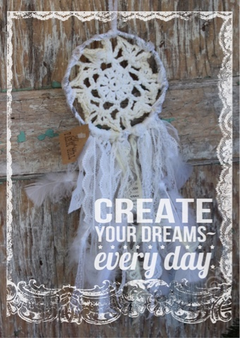 Create your dreams everyday