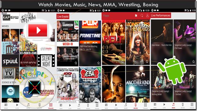 Flipps – Movies, Music & News Apk