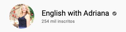 101 canais do YouTube para aprender inglês de graça English with Adriana