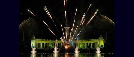 Noches de Fuego y Música 2015 en el Parque del Retiro