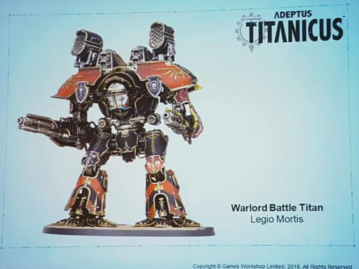 Adeptus Titanicus news and rumours - Warp Missile Pg235 - Knight