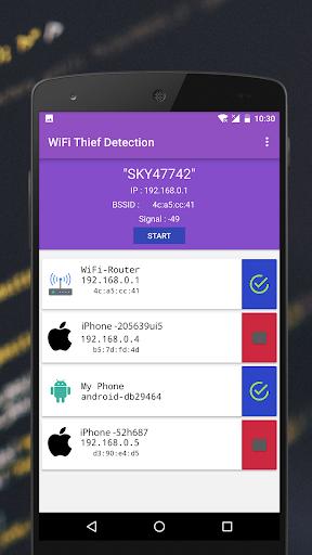 WiFi Thief Detection : Who Use My WiFi Pro ? 1.0.6 screenshots 3