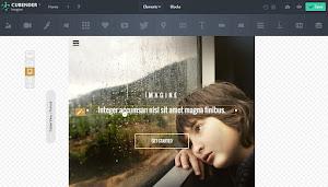 Tạo Responsive Website miễn phí với Cubender
