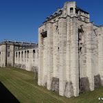 Château de Vincennes : fossé nord