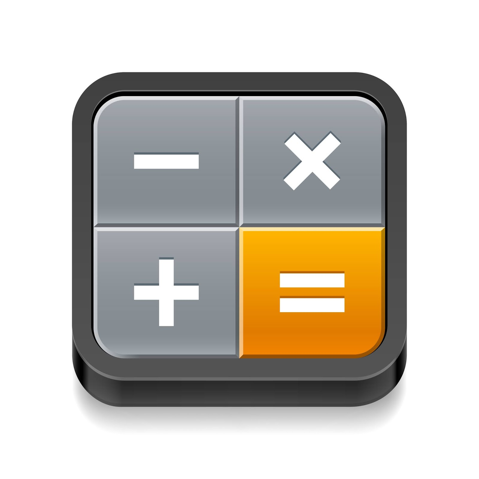 Calculator Icon Free Download Vector CDR, AI, EPS and PNG Formats