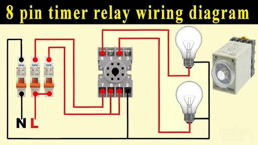 8 Pin Timer Relay Wiring Diagram