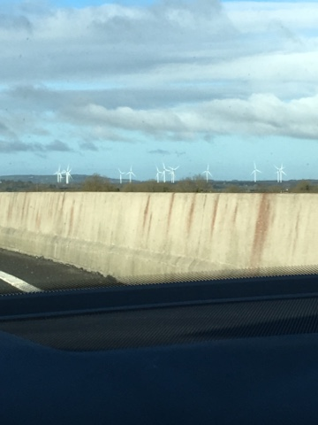 Windmills in Ireland