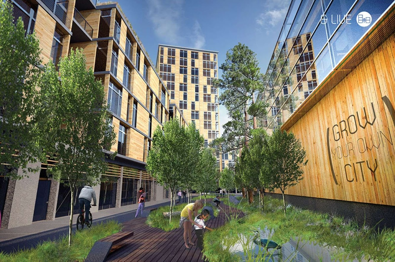 Brooklyn, New York, Stati Uniti: Timber in the City Competition – First Place