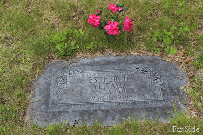 Aunt Toots Gravemarker