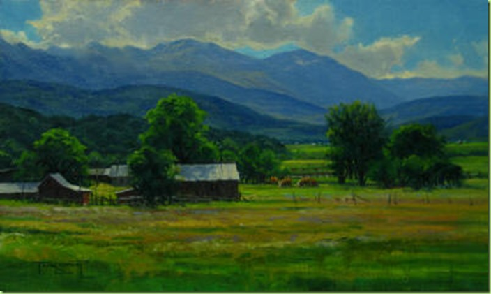 Lazy Summer Day 12 x 20 Oil on Linen_small