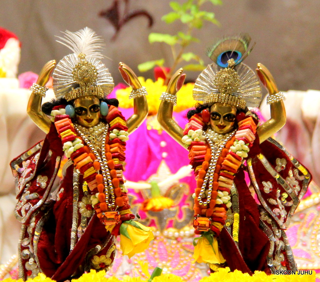 ISKCON Juhu Sringar Deity Darshan on 30th Sep 2016 (57)