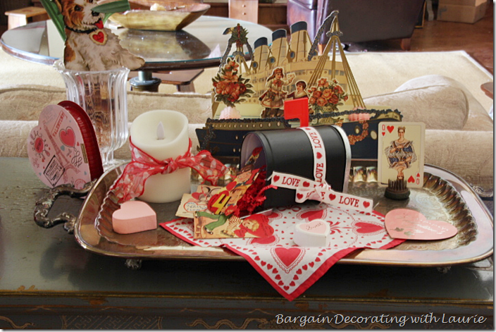 Valentines and Mailboxes decor