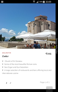 Croatian Attractions- screenshot thumbnail