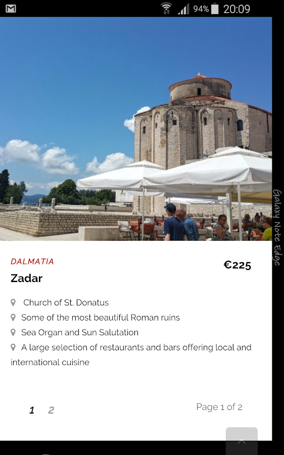 Croatian Attractions- screenshot