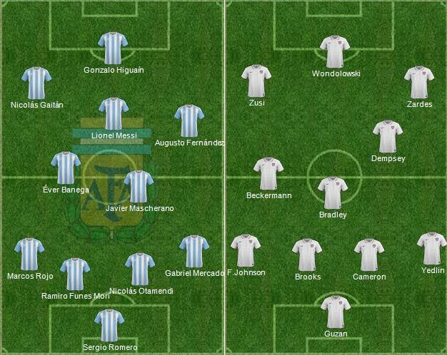 argentina 4 0 usa highlights copa america