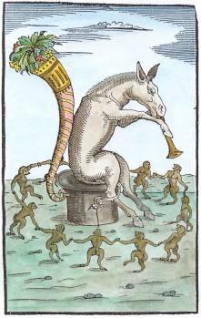 From Nazari Della Tramutatione Metallica Sogni Tre 1572, Alchemical And Hermetic Emblems 2