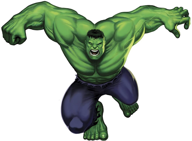 The Incredible Hulk Giant Wall Sticker