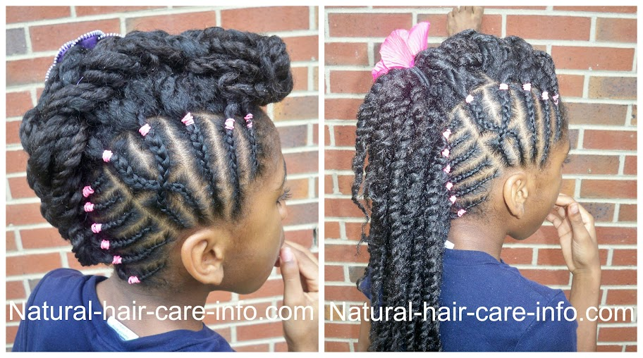 Magnificent Hairstyles For Young Girls Natural Hair Care Info Short Hairstyles Gunalazisus