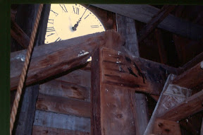 Inside of the South Strafford Steeple.