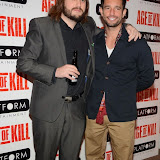 OIC - ENTSIMAGES.COM -  Neil Jones and Chris Brazier attend the Age of Kill - VIP film Screening inLondon on the 1st April 2015.Photo Mobis Photos/OIC 0203 174 1069