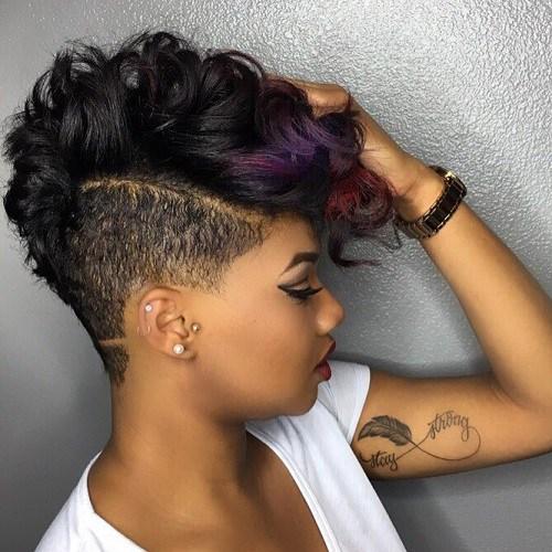 Short Hairstyles Ideas for Black Women In 2018 3