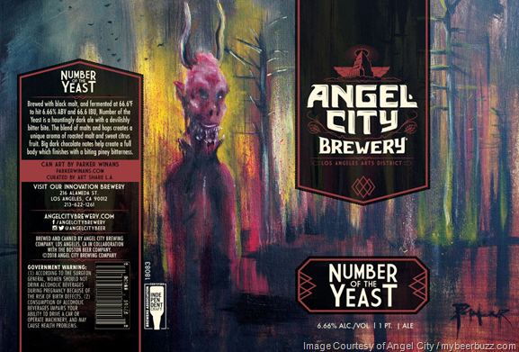 Angel City Brewery - Number Of The Yeast Cans