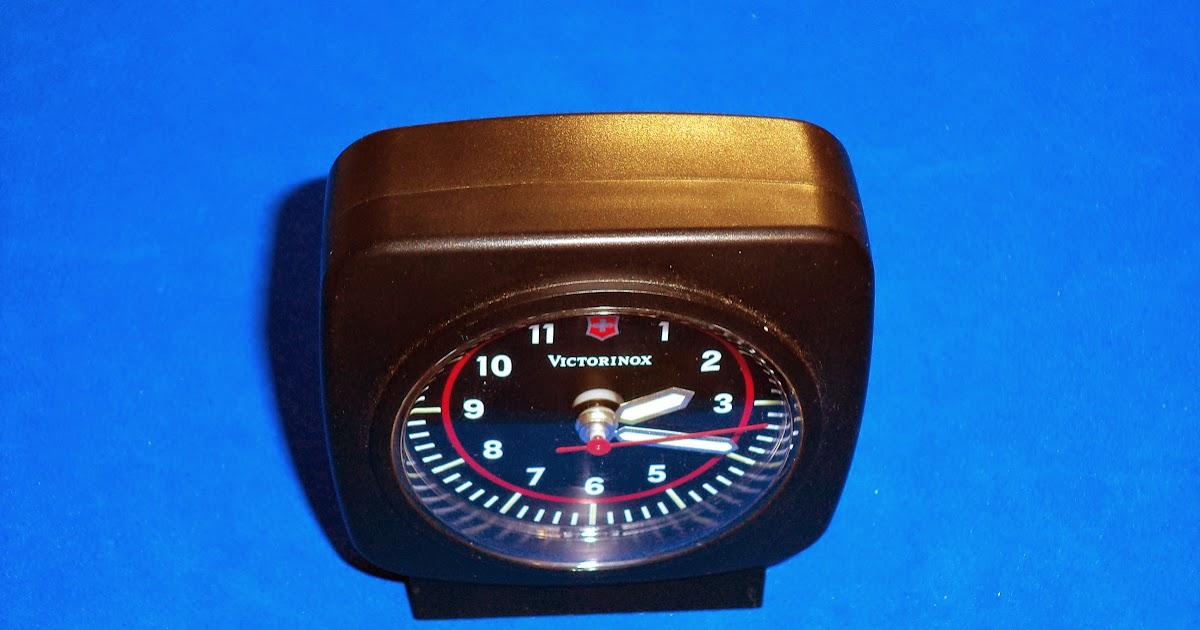 I Love Sak S Victorinox Travel Alarm Clock Model 35730