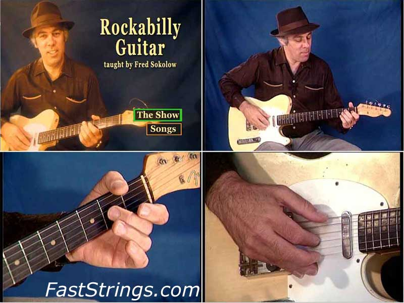 Fred Sokolow - Rockabilly Guitar