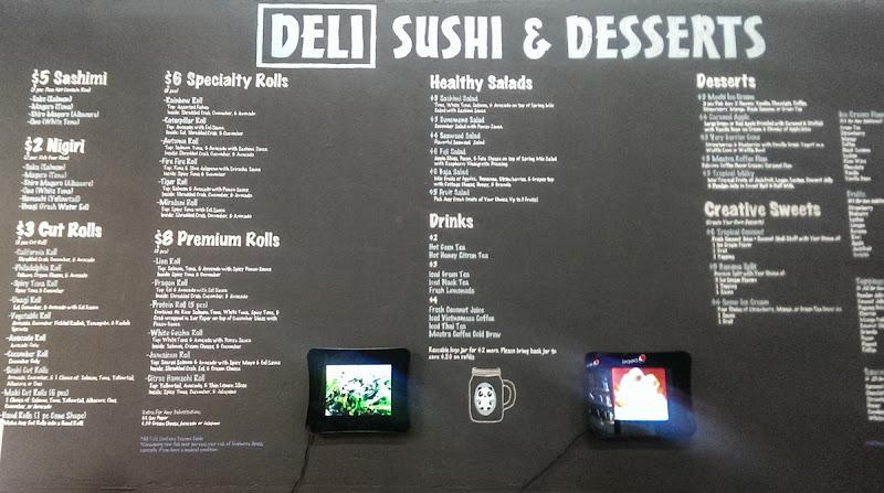 Deli Sushi & Desserts