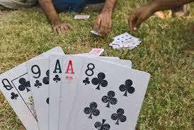 जुआ कार्यवाही-:जुआ खेलते हुए 10260 रुपये नगदी सहित 33 जुआरी गिरफ्तार
