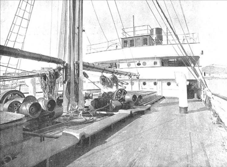 ROMEU. Detalle de la cubierta. Del libro S.E. de C.N. Año 1919.tif