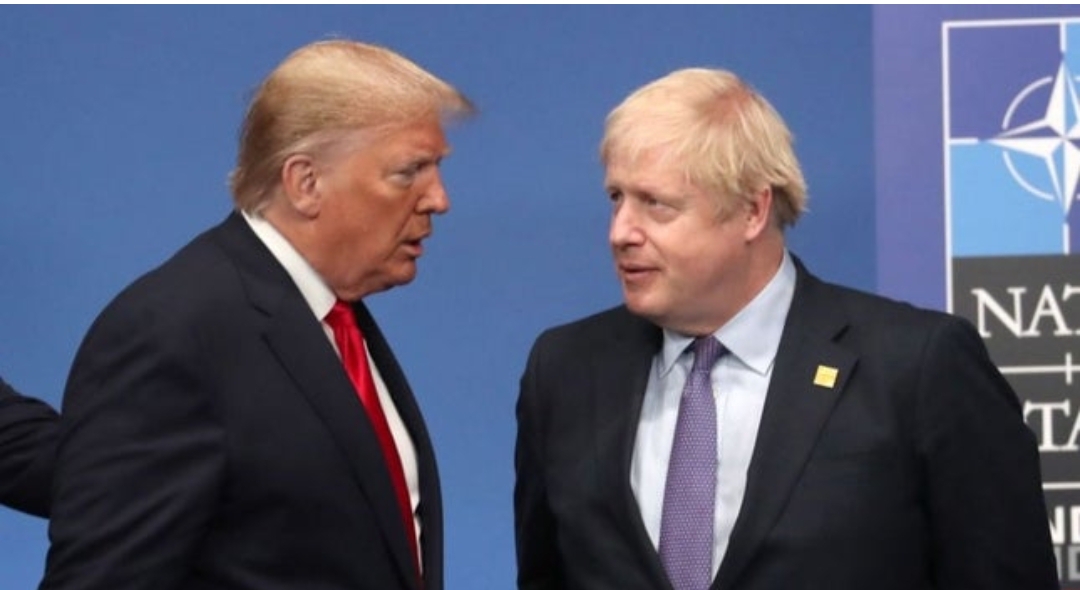 Can Donald Trump and Boris Johnson save our world from anarchy?