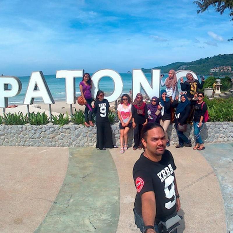 Blogger dikejarkan ke hospital sewaktu melancong di Phuket.