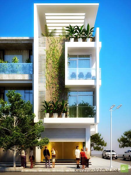 Cho những khách hàng yêu thiên nhiên với mẫu nhà phố mang phong cách sinh thái này. Thật sự rất thu hút !