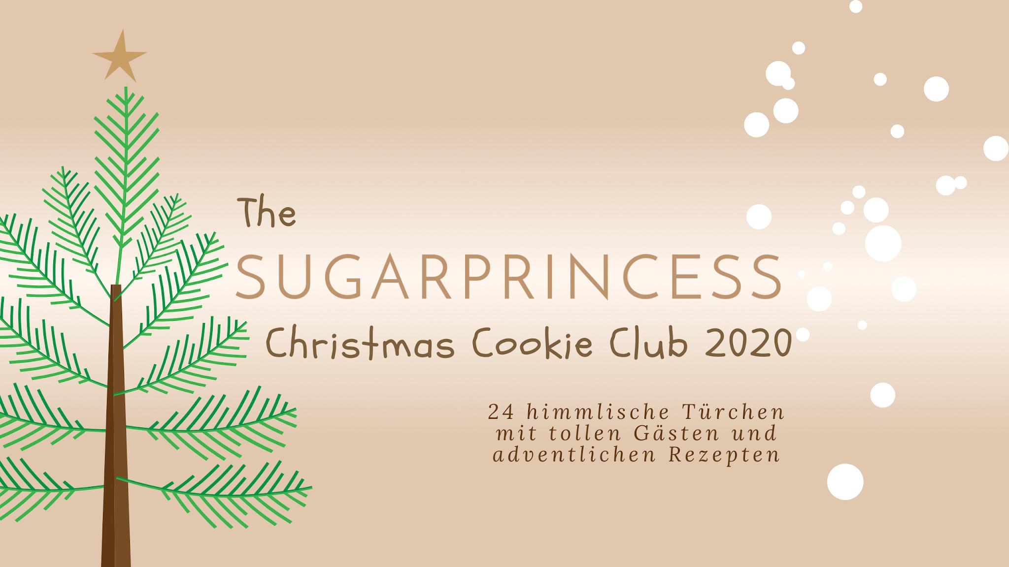 Der große Foodadventskalender The Sugarprincess Christmas Cookie Club 2020 ist gestartet | Gewinnspiel Ankündigung