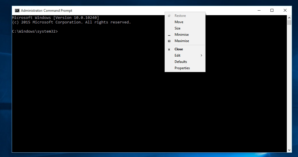 Windows command prompt list files