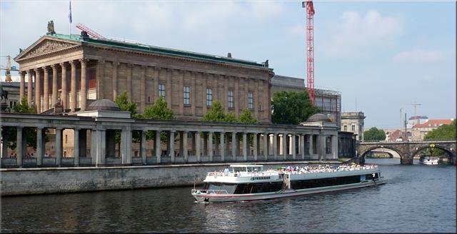 Paseo fluvial por el Spree - Berlín'15