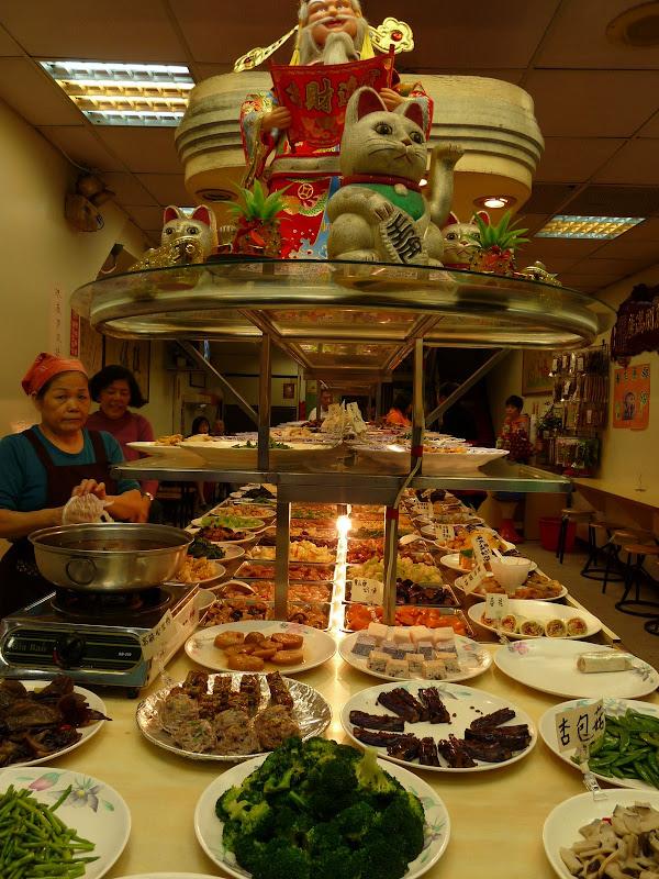 restaurant végétarien, car situé près du temple