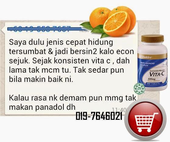 testimoni vitamin C