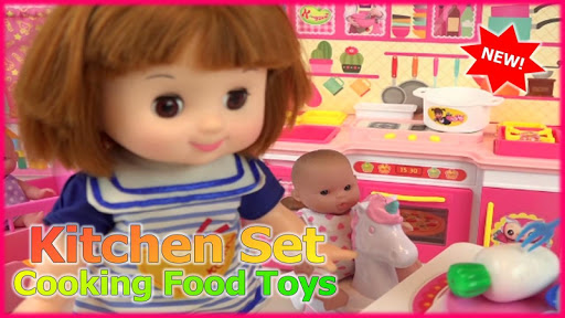 Kitchen Set Cooking Food Toys  screenshots 2