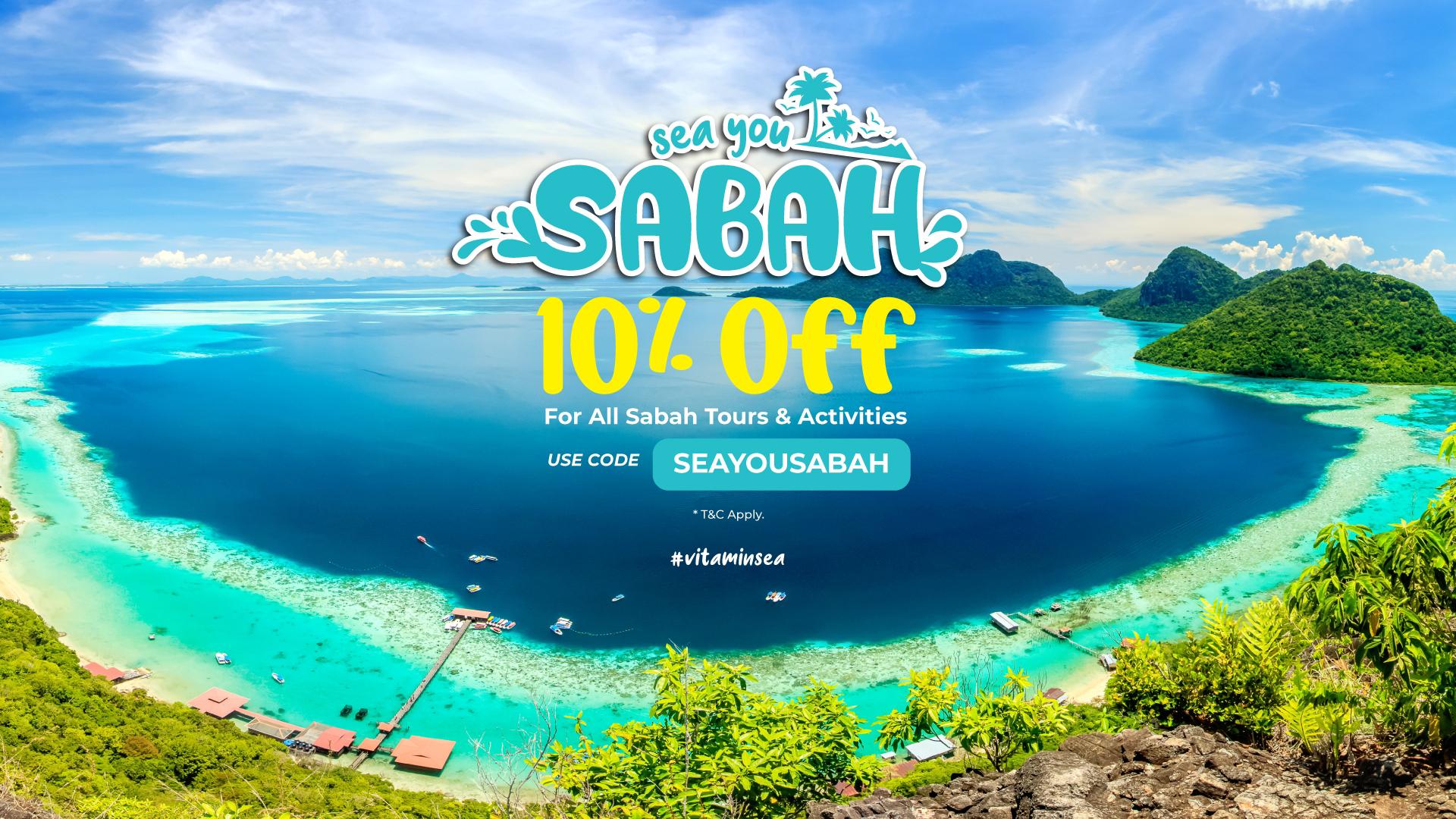 Sabah Tourism & Activity Promotion 2020