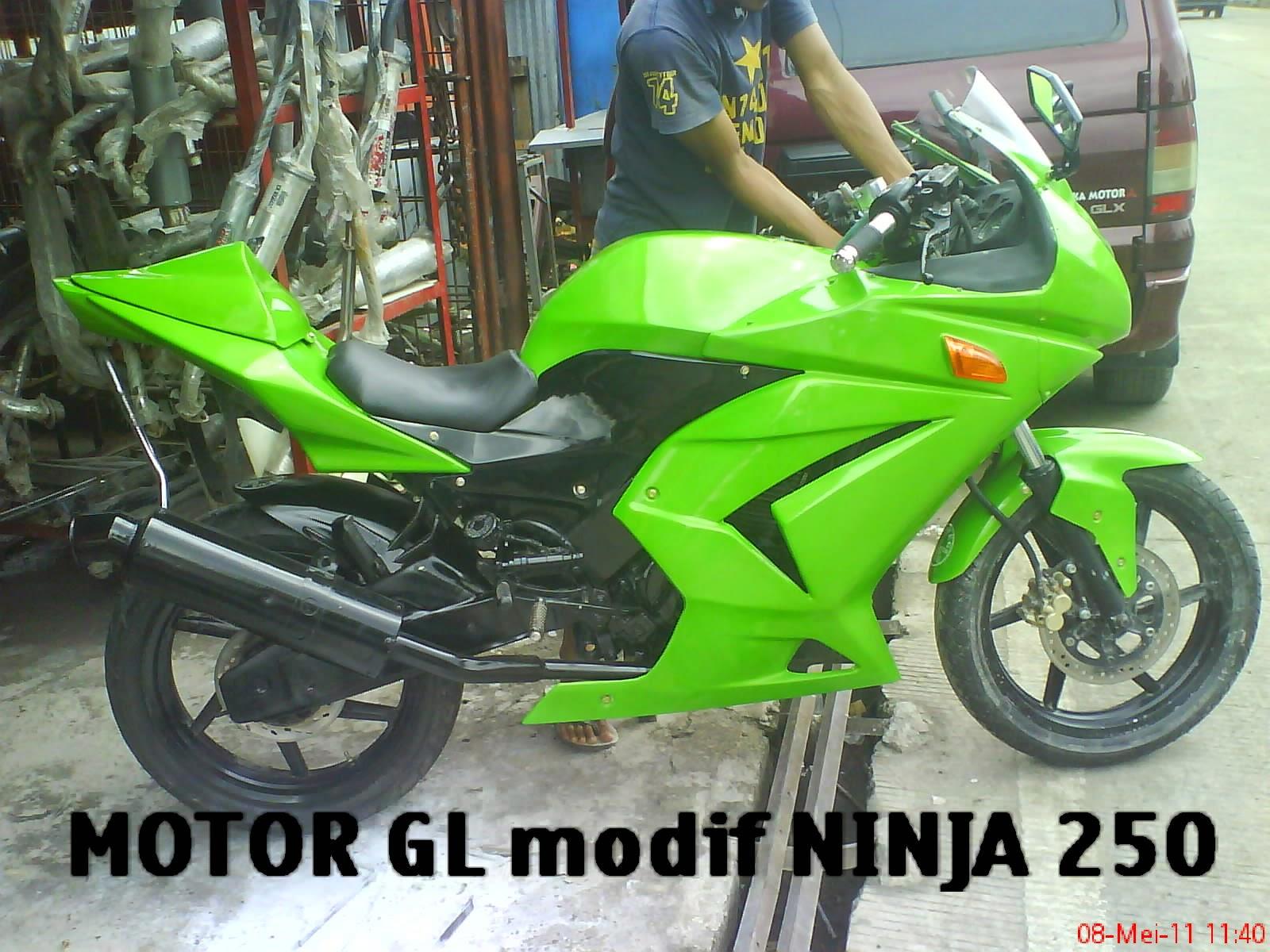 terbaru thunder 125 modif ninja 250