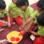 Cooking Experiece-Making Rose Drink in Nursery (2014-15) at Witty World