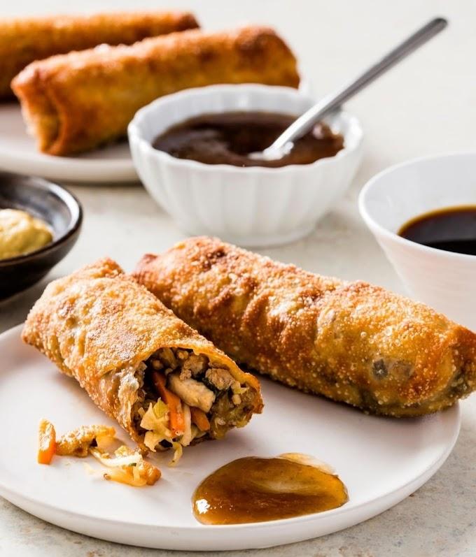 Fried Egg Rolls Recipe | Breakfast Care | Healthy Breakfast