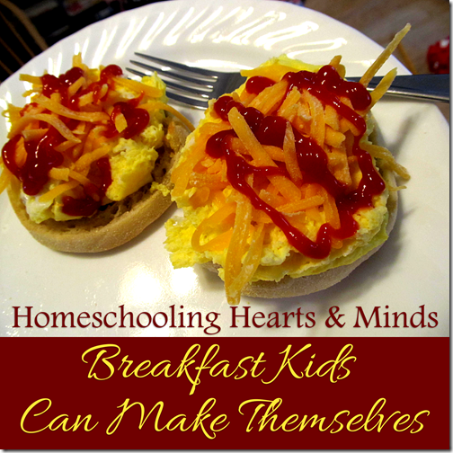 Breakfast homeschool kids can make themselves