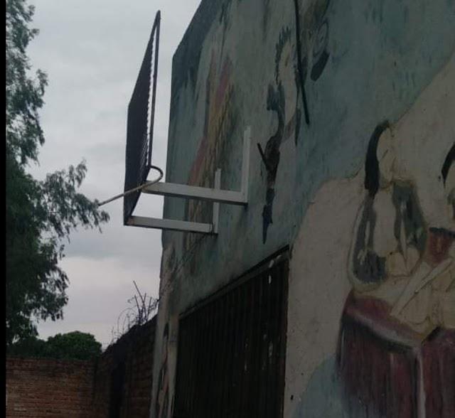 Ahora le robaron los aires a la escuela Ciudad de Orán