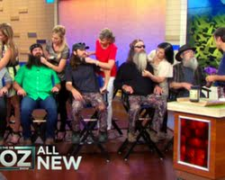 duck dynasty dr oz asked the cast to share the holistic secrets of