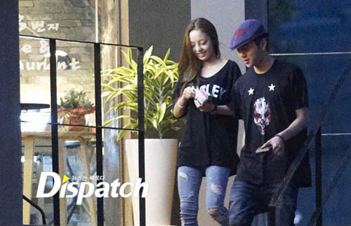 Goo Hara วง KARA กับ Yong Jun Hyung วง B2ST กำลังคบกันอยู่
