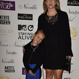OIC - ENTSIMAGES.COM -  at the   Nina Naustdal - catwalk show  as Oslo born designer exhibits her aw 2015 couture - ss 2016 and childrens wear collections in collaboration with MTV Staying Alive Foundation in London 27th September 2015 Photo Mobis Photos/OIC 0203 174 1069